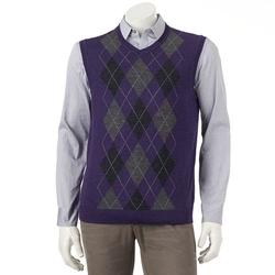 Apt. 9 - Merino Argyle Sweater Vest