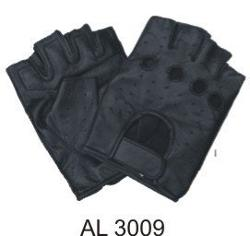 Allstate Leather - Soft Premium Lambskin Leather Fingerless Glove