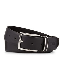 Hugo Boss   - Froppin Square-Buckle Belt