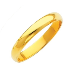 TWJC Wedding Collection - Plain Wedding Band Ring