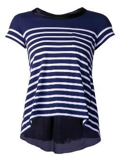 Sacai Luck - Striped T-shirt