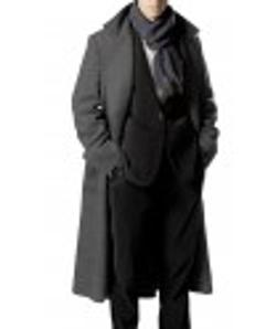 Desert Leather - Sherlock Holmes Wool Cape Coat