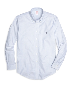 Brooks Brothers - Madison Fit Oxford Stripe Sport Shirt