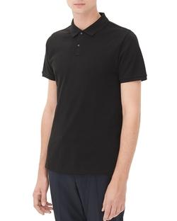 Sandro - Slim Fit Cotton Polo Shirt