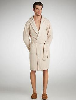 UGG Australia - Alsten Shawl Collar Hooded Robe