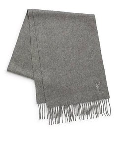 Yves Saint Laurent  - Wool & Cashmere Scarf
