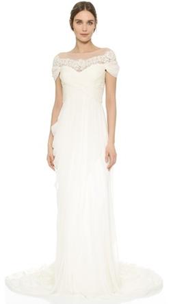 Marchesa  - Grecian Illusion Gown