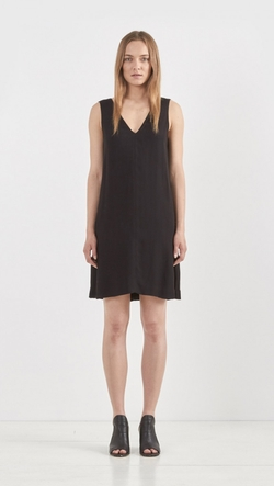 L'Agence  - Sleeveless V-Neck Dress