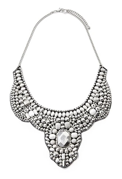 Forever 21 - Beaded Statement Bib Necklace