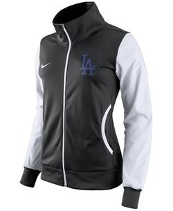 Nike - Los Angeles Dodgers Full-Zip Track Jacket