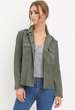 Forever 21 - Collared Utility Jacket