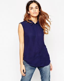 Asos Collection - Sleeveless Blouse