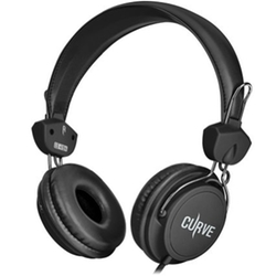 Sentey - Microphone Curve Headphones