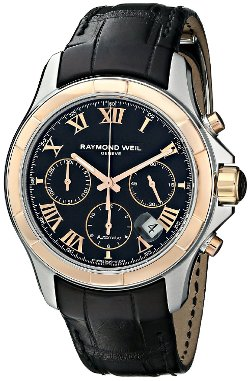 Raymond Weil - Parsifal Analog Display Swiss Automatic Black Watch