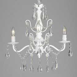Dean - Light White Chandelier