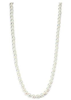 Giorgio Martello  - Faux White Pearl Necklace