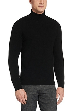 Boss - Italian Cashmere Turtleneck Shirt