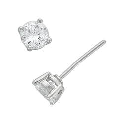 Diamon Luxe - Simulated Diamond Stud Earrings