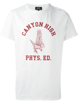 A.P.C.  - Canyon High Print T-Shirt