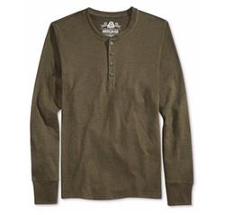 American Rag - Henley Shirt