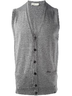 ROBERTO COLLINA  - button up vest