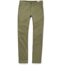 Rag & Bone - Slim-Fit Brushed Cotton-Twill Chino Pants