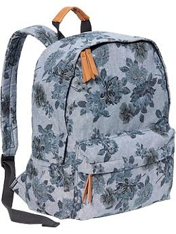 Old Navy - Floral Chambray Backpack