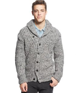 Tommy Hilfiger - Shawl Collar Cardigan Sweater