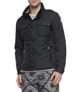 Moncler  - Mate Nylon Field Jacket