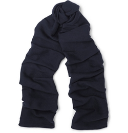 Maison Margiela   - Wool And Silk-Blend Scarf