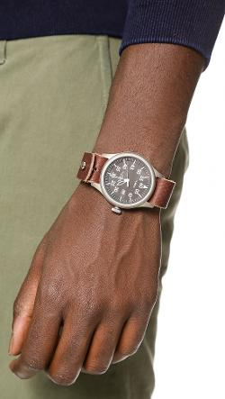 Form Function Form  - Button Stud Minute Man Watch