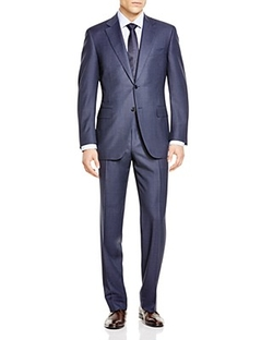 Canali - Nailhead Dot Siena Classic Fit Suit