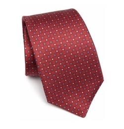 Kiton - Micro Dot Printed Tie