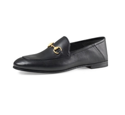 Gucci - Brixton Leather Horsebit Loafer