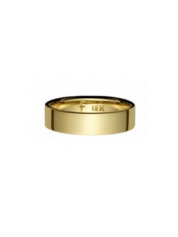 Finn - Simple Gold Band Ring