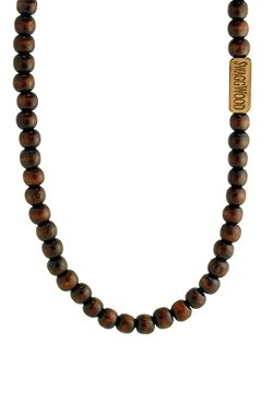 SwaggWood - Wood Bead Necklace