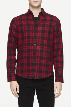 Rag & Bone -  Three Quarter Placket Shirt