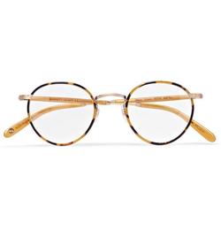 Garrett Leight California  - Optical Wilson Tokyo Acetate and Metal Optical Glasses