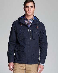 Kent and Curwen  - Hooded Anorak Jacket