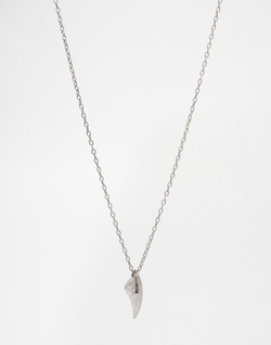 Seven London - Tooth-Style Pendant Necklace