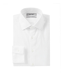 Murano - Slim-Fit Spread-Collar Dress Shirt