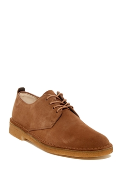 Clarks - Desert London Suede Derby Shoes