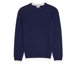 Reiss - Contrast Hem Sweater