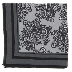 Finamore  - Paisley Pocket Square