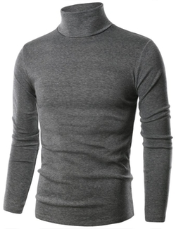 Ohoo - Cotton Turtleneck Pullover