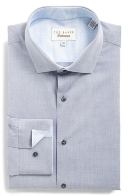 Ted Baker London - Trim Fit Solid Dress Shirt
