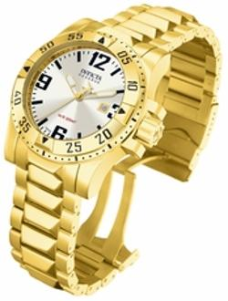 Invicta  - Reserve Collection Excursion 18k Gold-Plated Mens Watch