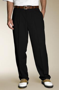 Cutter & Buck  - Gabardine Microfiber Cuff Golf Trousers