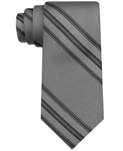DKNY  - Triple Stripe Slim Tie
