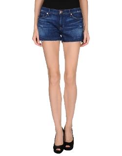 Hudson - Dark Wash Denim Shorts